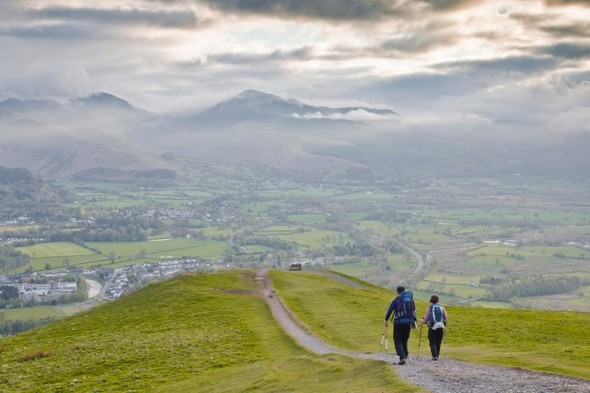 Mourners leaving 'piles of ashes and litter' in the Lake District