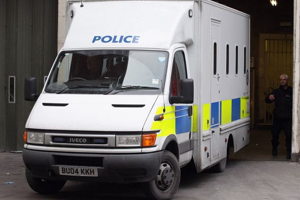 Man killed by rolling police van in West Yorkshire park