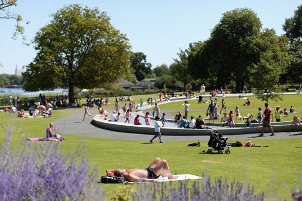Get ready for summer! Six days of sunshine expected across Britain