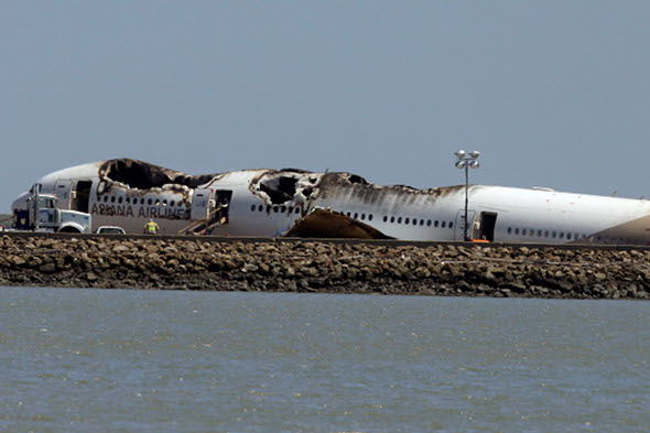 Two flight attendants from Asiana flight were ejected from plane - and survived