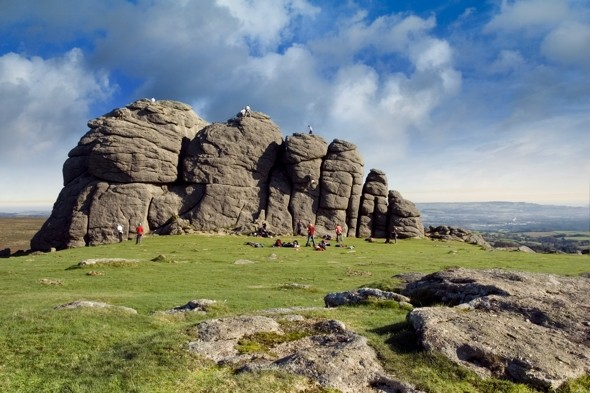 Mother and son die after falling 100ft on Dartmoor in Devon