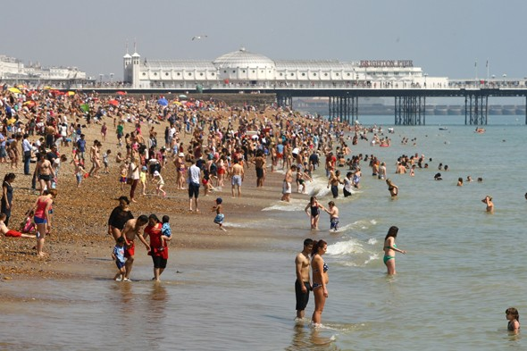 Warnings over hottest day of year as 30C heatwave arrives