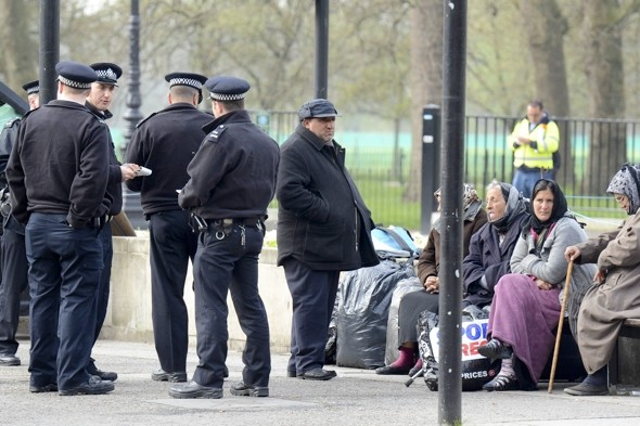 Britain seeks help from Romania in controlling its travellers