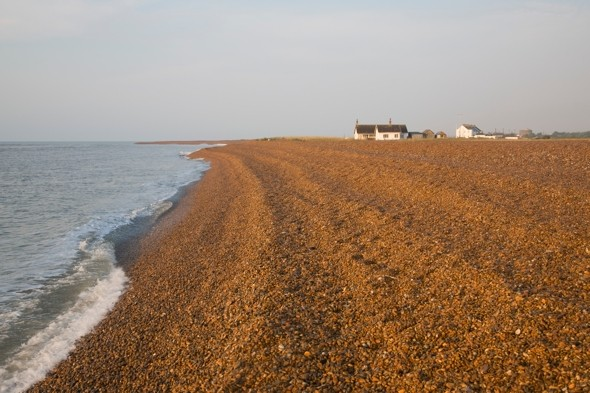 Woman's body washes up on beach in Suffolk