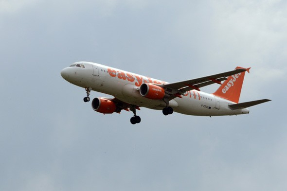 Easyjet plane makes emergency landing after engine cover flies off during take-off