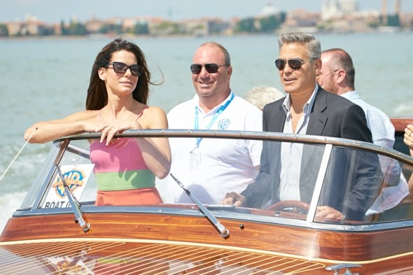 George Clooney in trouble over Venice boat stunt?