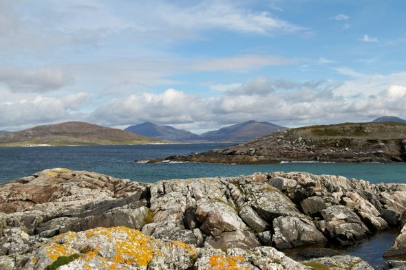 Female holidaymaker dies swimming with family off Scottish beach