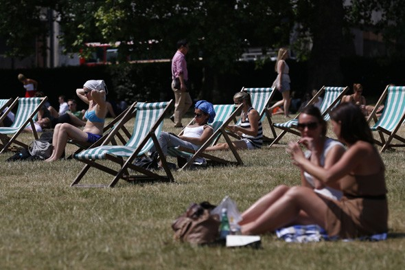 Goodbye rain! Hot weather to return and could stay until September