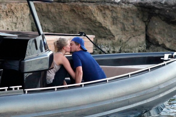 Love boat! Leonardo DiCaprio enjoys PDA with new girl on holiday in Ibiza