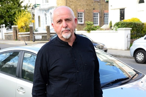 Genesis star Peter Gabriel 'wrote farewell note' during scary flight