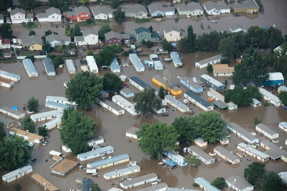 At least four dead and 500 missing in Colorado floods