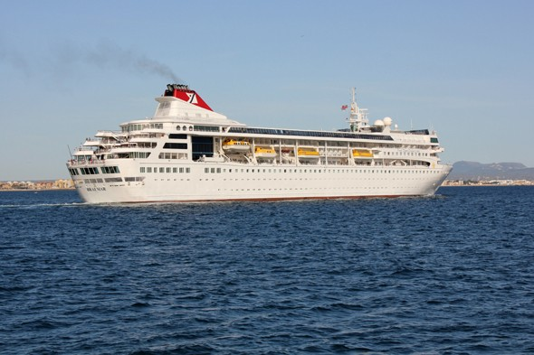 Vomiting bug hits 130 holidaymakers on luxury cruise ship
