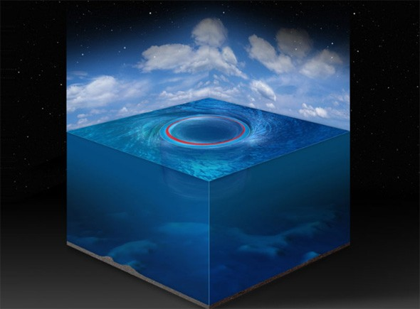 Scientists find black holes in the sea
