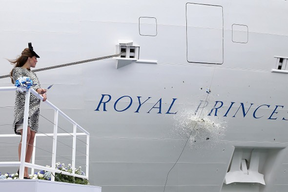 3,500 passengers stranded on Royal Princess cruise ship
