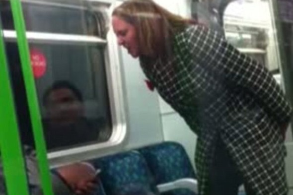 'F*** off back to your own country': Woman CLEARED of racism after Tube rant