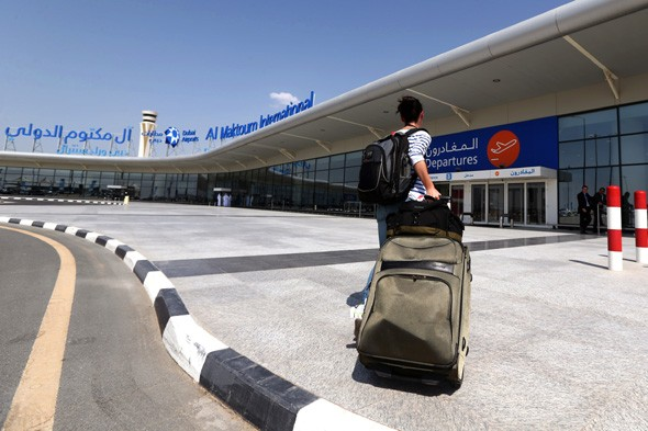 World's newest airport opens to passengers