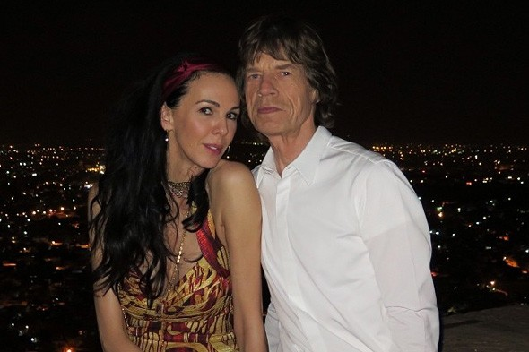 Mick Jagger's girlfriend L'Wren Scott shares snaps from their Indian holiday