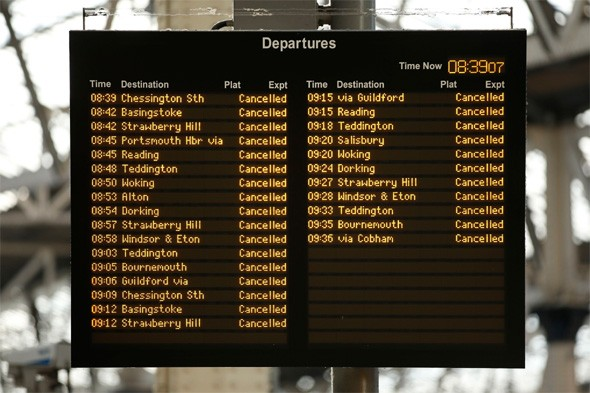 Train firms to claim millions of pounds in compensation after UK storm