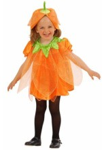 this little pumpkin infant costume is a treat for little girls aged 1 2 years old and comes with the dress and pumpkin hat its 1799 from halloween