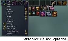 Bartender3's bar options