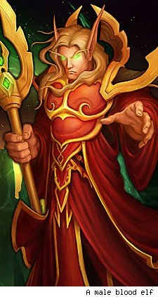All the World's a Stage: So you want to be a blood elf