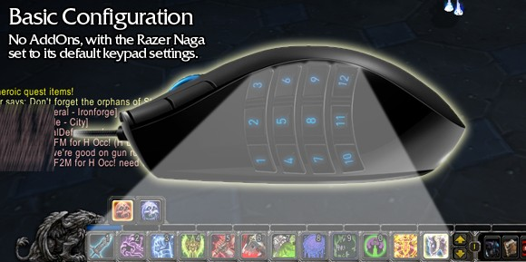 Drivers Razer Naga Gaming Mouse World of Warcraft AddOn