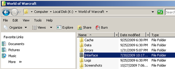 Anything I can do to reduce the size of my WoW folder?