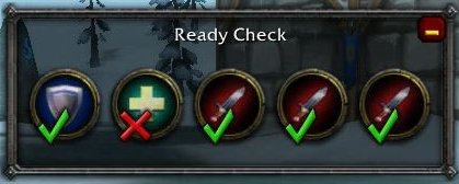 Check mark and X WoW icon id? - World of Warcraft Forums
