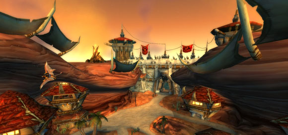how to get to burning steppes from orgrimmar