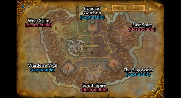 how to get to tol barad vale
