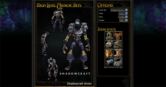 Armor Set Collecting: Dungeon Set One