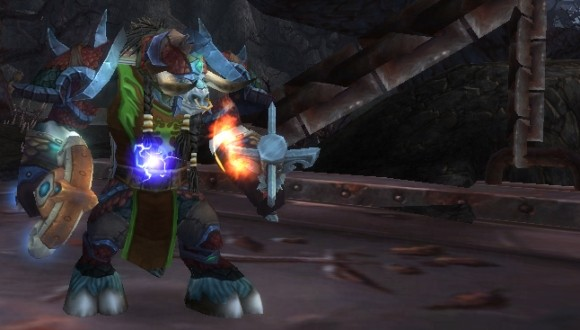 Early cataclysm geared enhancement shaman.