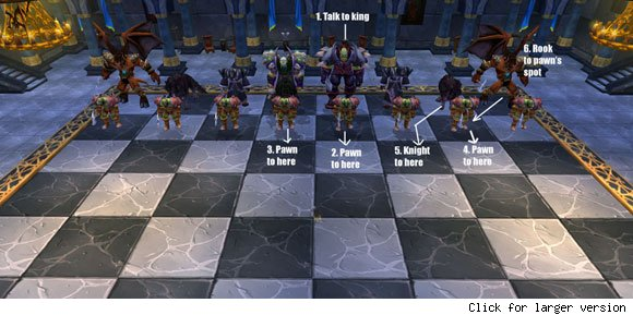 Karazhan Chess Strategy