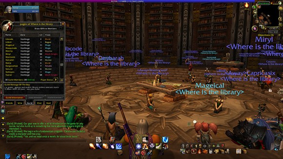 Librarians gather in WoW