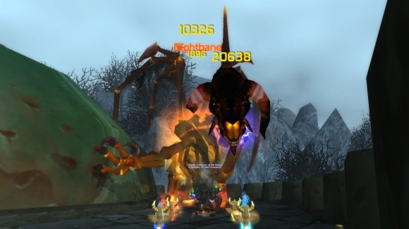 An enhancement shaman solos Nightbane.