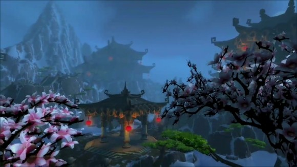 Scenic temple screenshot