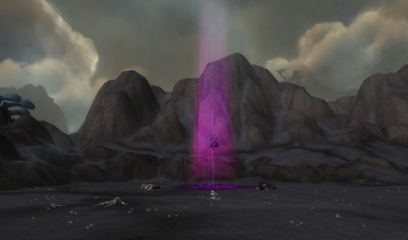 Echo of Tyrande in End Time.