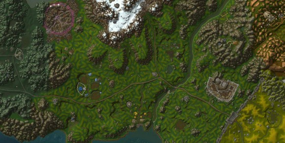 More WoW Maps that use Google Earth