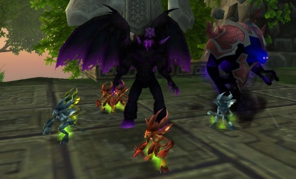 blood pact get our mop minions and our little felpuppies too rh engadget com WoW Warlock Demons WoW Troll Warlock