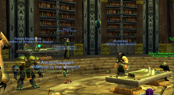 Librarians in Azeroth