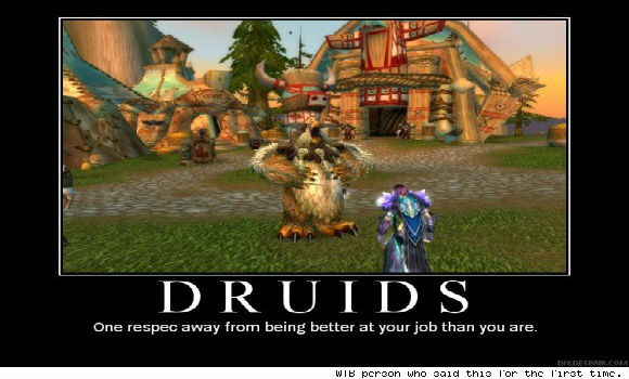 Shifting Perspectives Why play a druid SUN