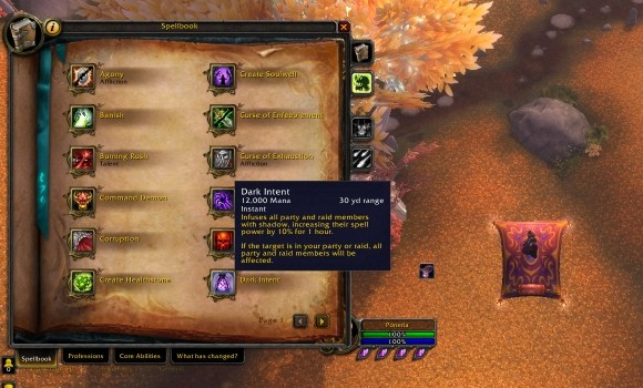 Blood Pact Core changes for warlocks in 50 MON