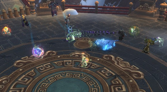 Raid Rx Healing Mogu'shan Vaults part 1 in LFR  ANY