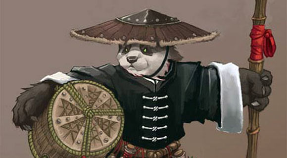 Roleplaying a nonpandaren monk SAT