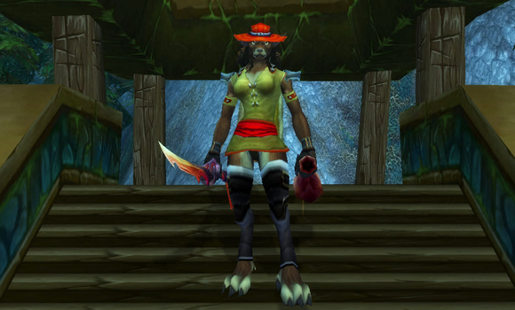 Transmog and the amazing Journeyman's Vest THURS