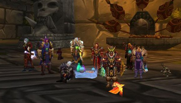 The social aspect of WoW
