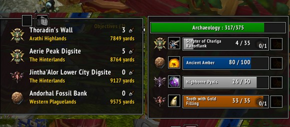 Addon Spotlight Digging up some Archaeology Addons