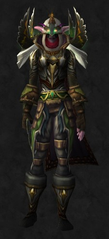 Transmogrifying a Maiev lookalike set THUR