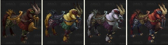 Patch 51 PTR Achievements, Audio and more Windsteeds