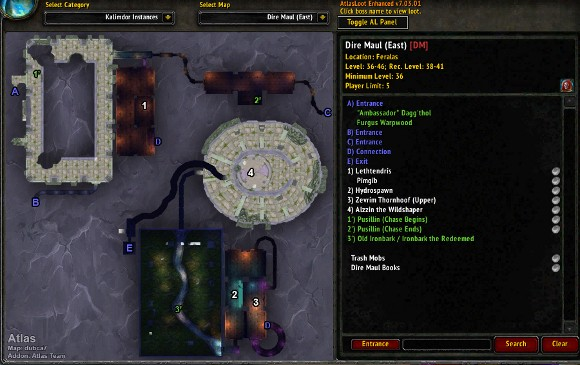 Addon Spotlight Mapping and Navigation